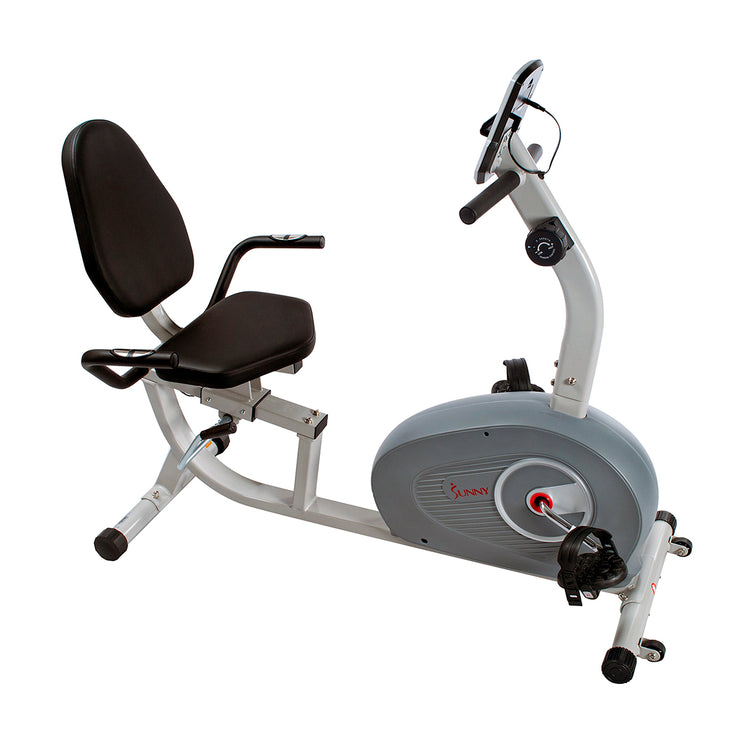 Sunny Health & Fitness Magnetic Recumbent Exercise Bike