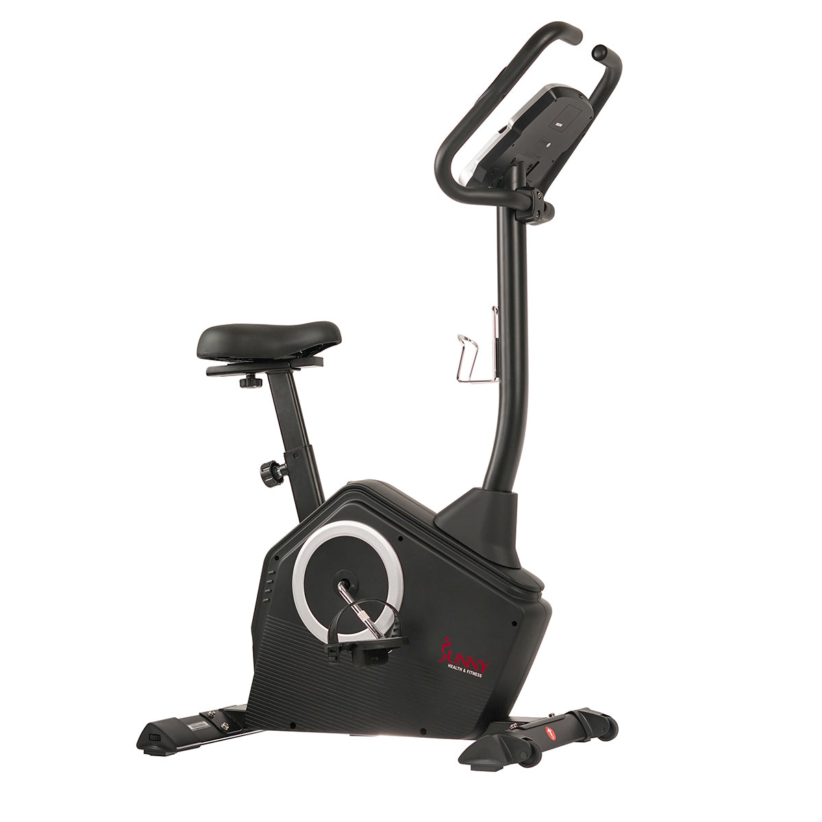Details about  /Stationary Exercise Bike Magnetic Upright Bike with LCD Monitor /& Phone Holder
