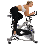 Sabre Cycle Exercise Bike - Magnetic Belt Drive Commercial Indoor Cycling Bike