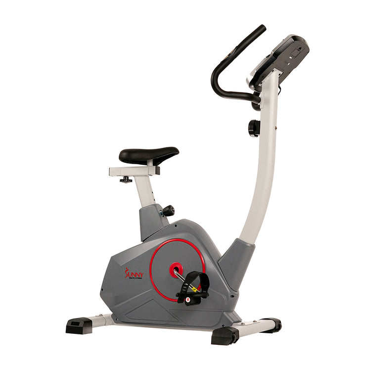 Upright Exercise Bike with Performance Monitor, Device Holder, 275 LB Max User Weight