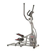 Magnetic Elliptical Trainer Elliptical Machine w/ Device Holder, LCD Monitor and Heart Rate Monitor