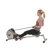 Elastic Cord Rowing Machine Rower w/ LCD Monitor
