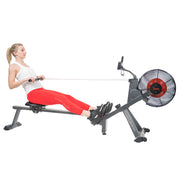 Magnetic Air Resistance Rowing Machine