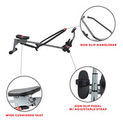 Rowing Machine w/ Full Motion Arms