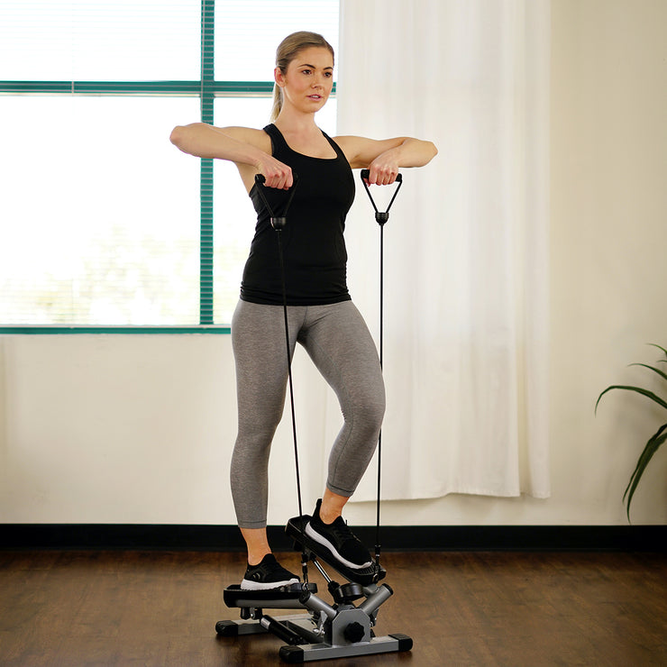Twist Stepper w/ Resistance Bands - NO. 045