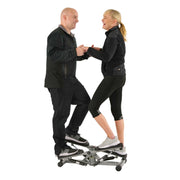 Tandem Stepper Step Machine w/ LCD Monitor