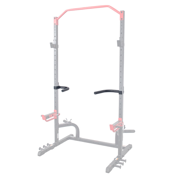 Dip Bar Attachment for Power Racks and Cages