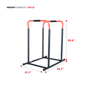 High Weight Capacity Adjustable Dip Stand Station