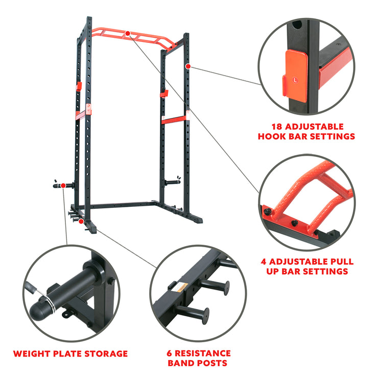 Power Zone Power Cage Strength Rack