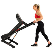 Electric Treadmill w/ Auto Incline and USB Port
