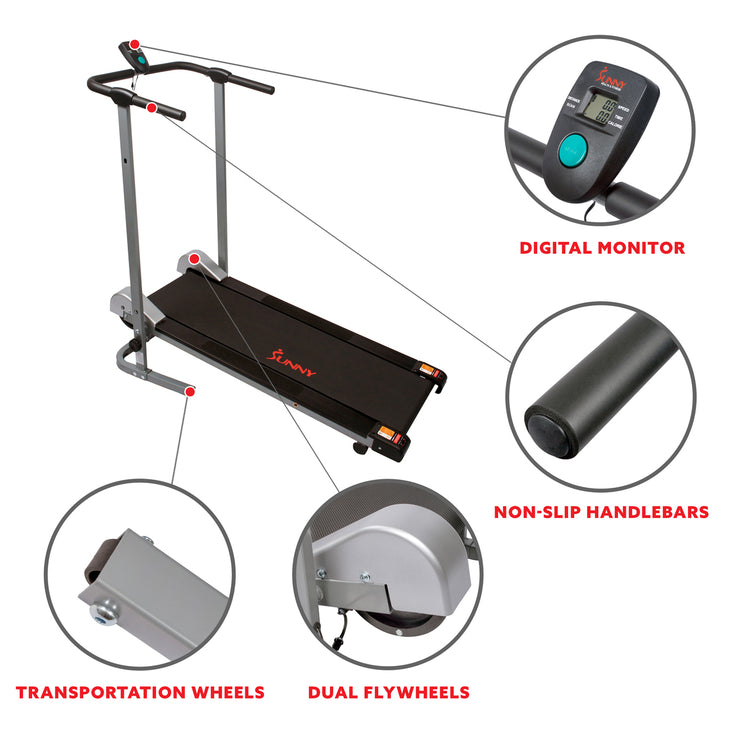Manual Walking Treadmill