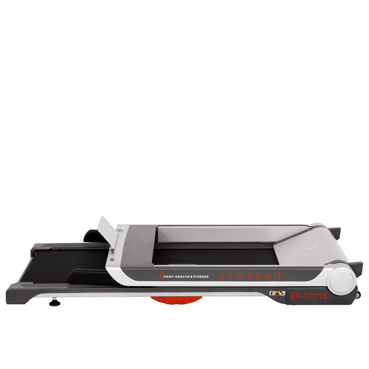 "Running Treadmill, 20"" Wide Belt, Flat Folding & Low Pro for Portability w/ Speakers and USB"