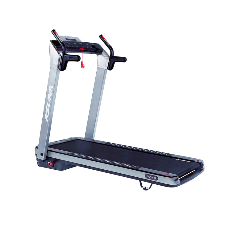 SpaceFlex Running Treadmill w/ Auto Incline, Foldable Wide Deck