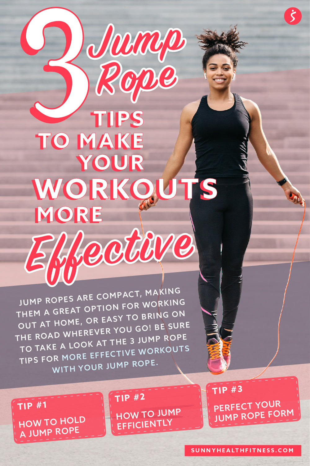 Jump Rope Tips Infographic
