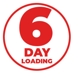 6 day loading