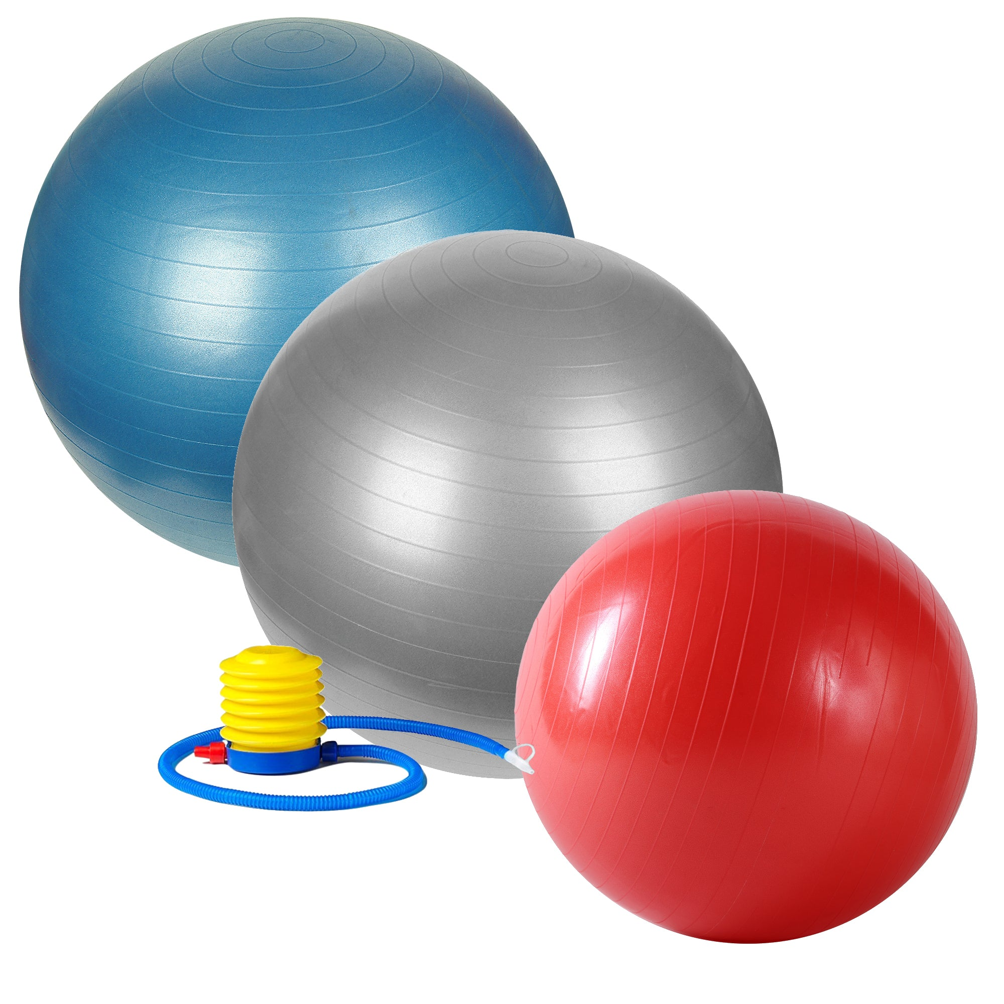 youtube how to inflate exercise ball
