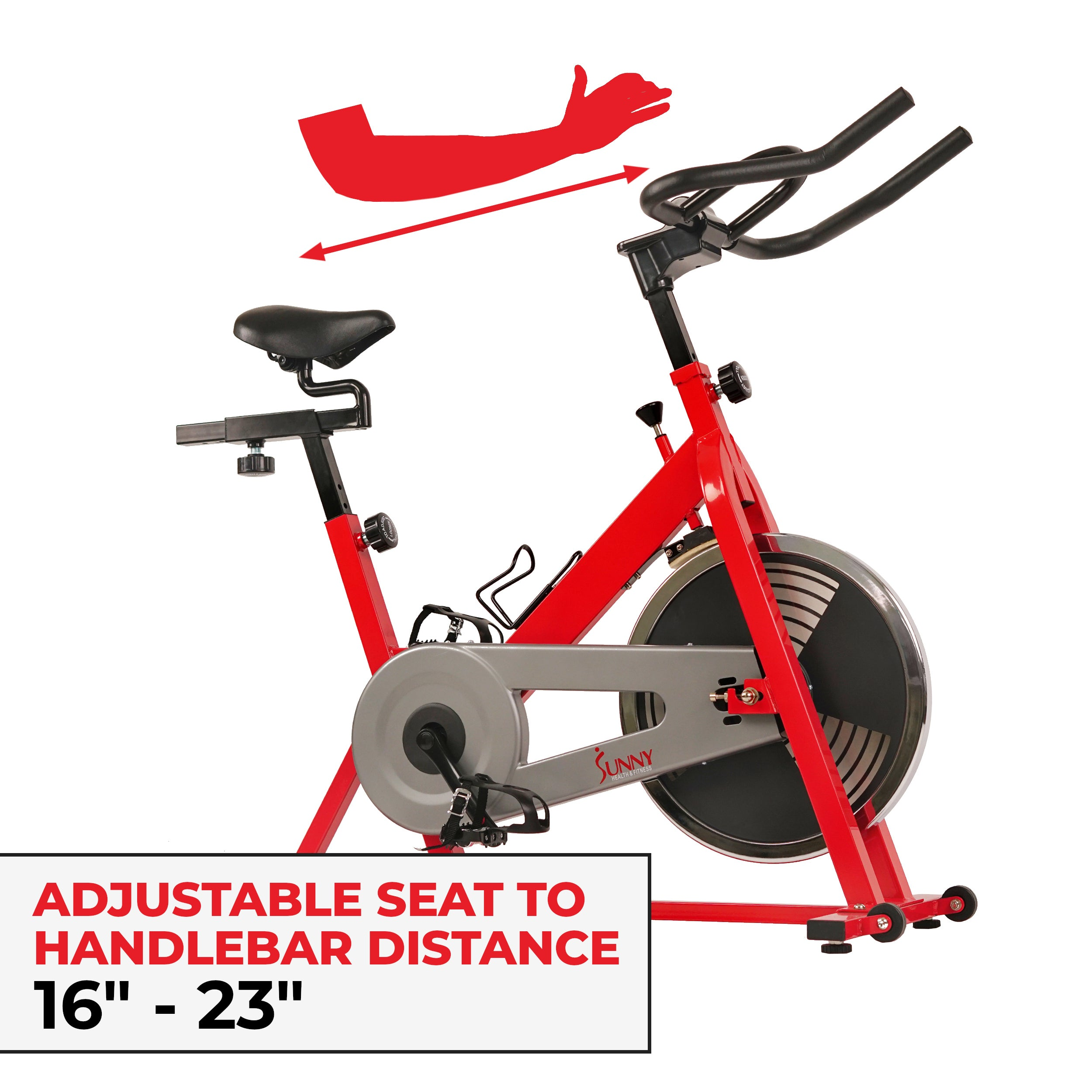 sunny-health-fitness-bikes-chain-drive-indoor-cycling-trainer-SF-B1001-fitting