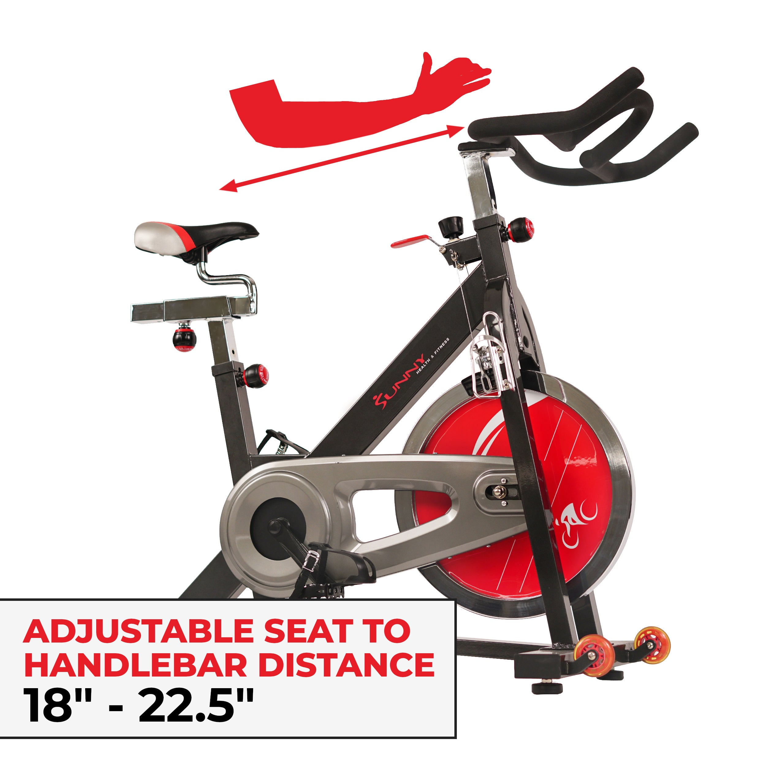sunny-health-fitness-bikes-chain-drive-indoor-cycling-trainer-SF-B1401-fittings