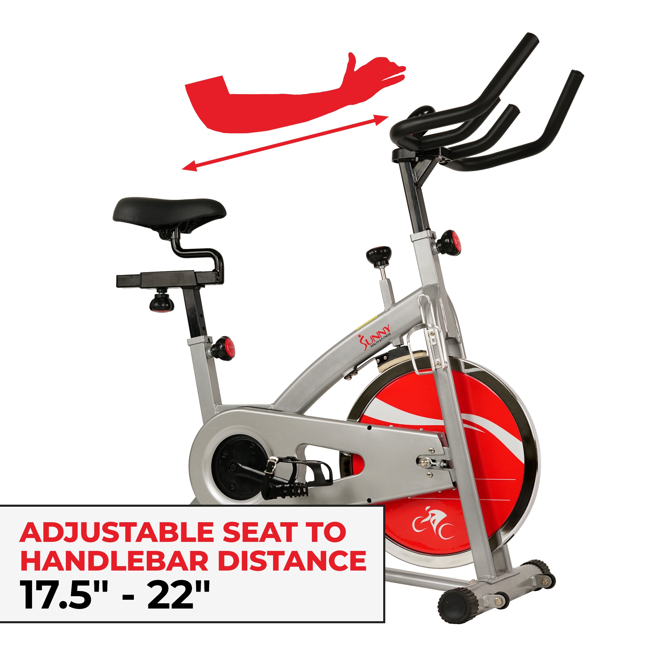 sunny-health-fitness-bikes-drive-chain-indoor-cycling-bike-monitor-lcd-SF-B1421-fittings