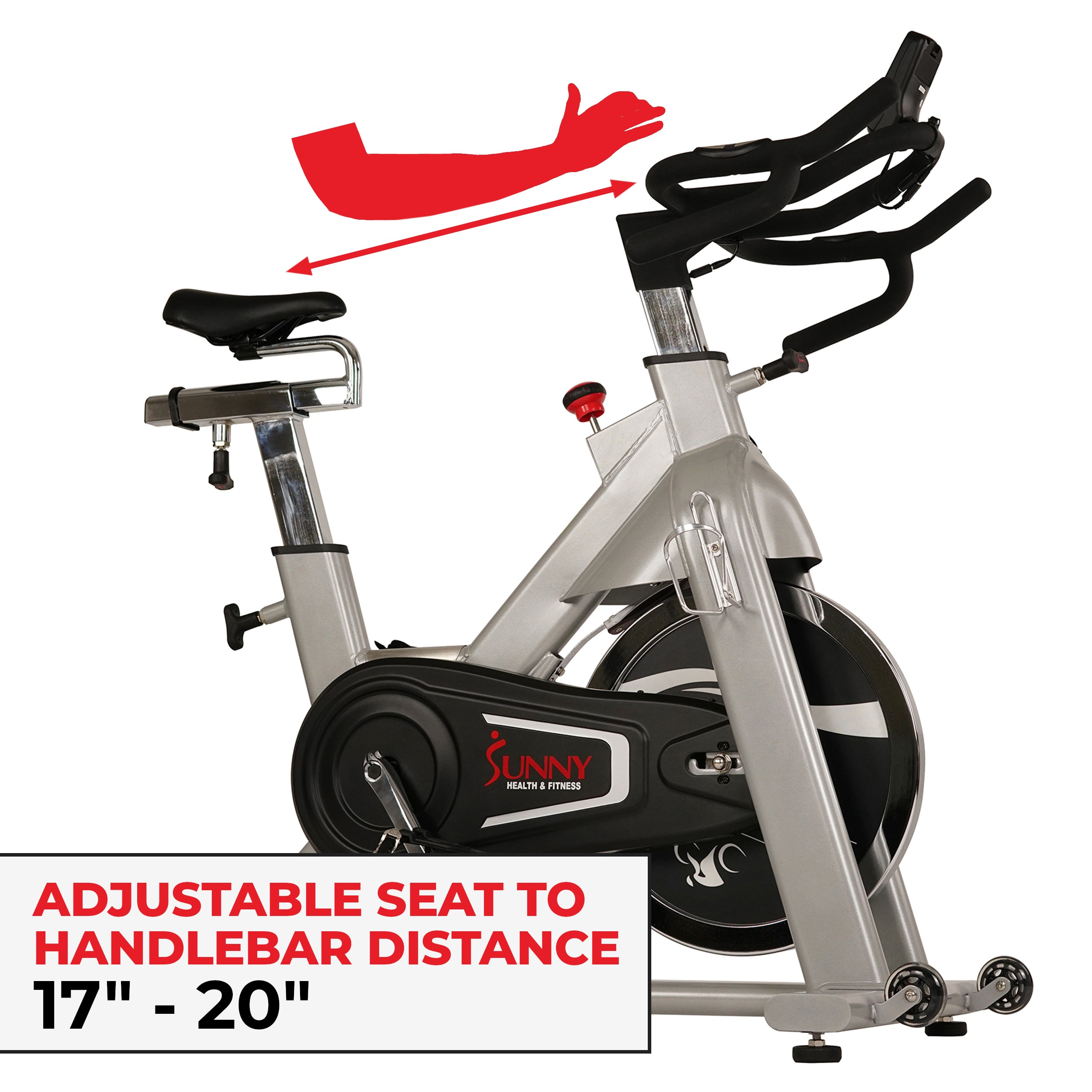 sunny-health-fitness-bikes-magnetic-rear-belt-drive-indoor-cycling-bike-high-weight-capacity-cadence-sensor-and-pulse-rate-SF-B1735-fittings