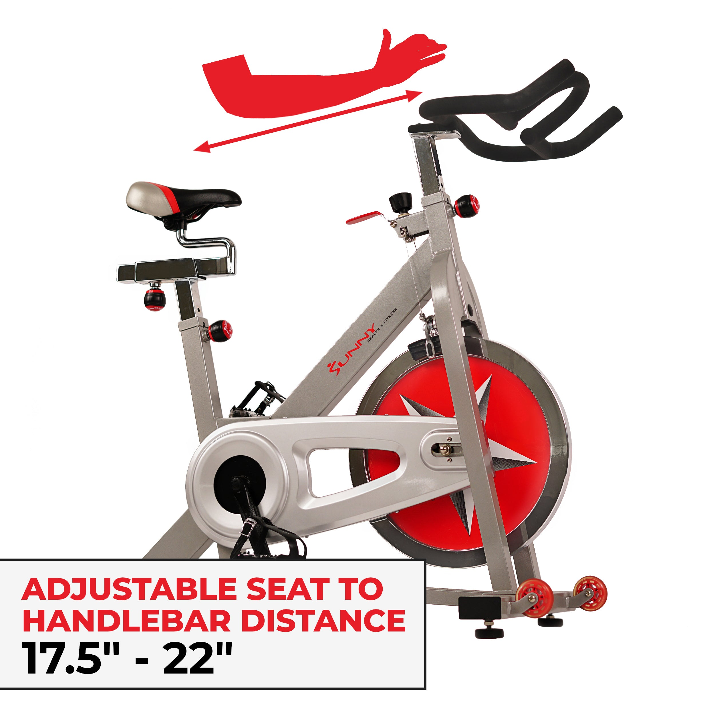 sunny-health-fitness-bikes-40lb-flywheel-belt-drive-pro-indoor-cycling-exercise-bike-SF-B901B-fitting