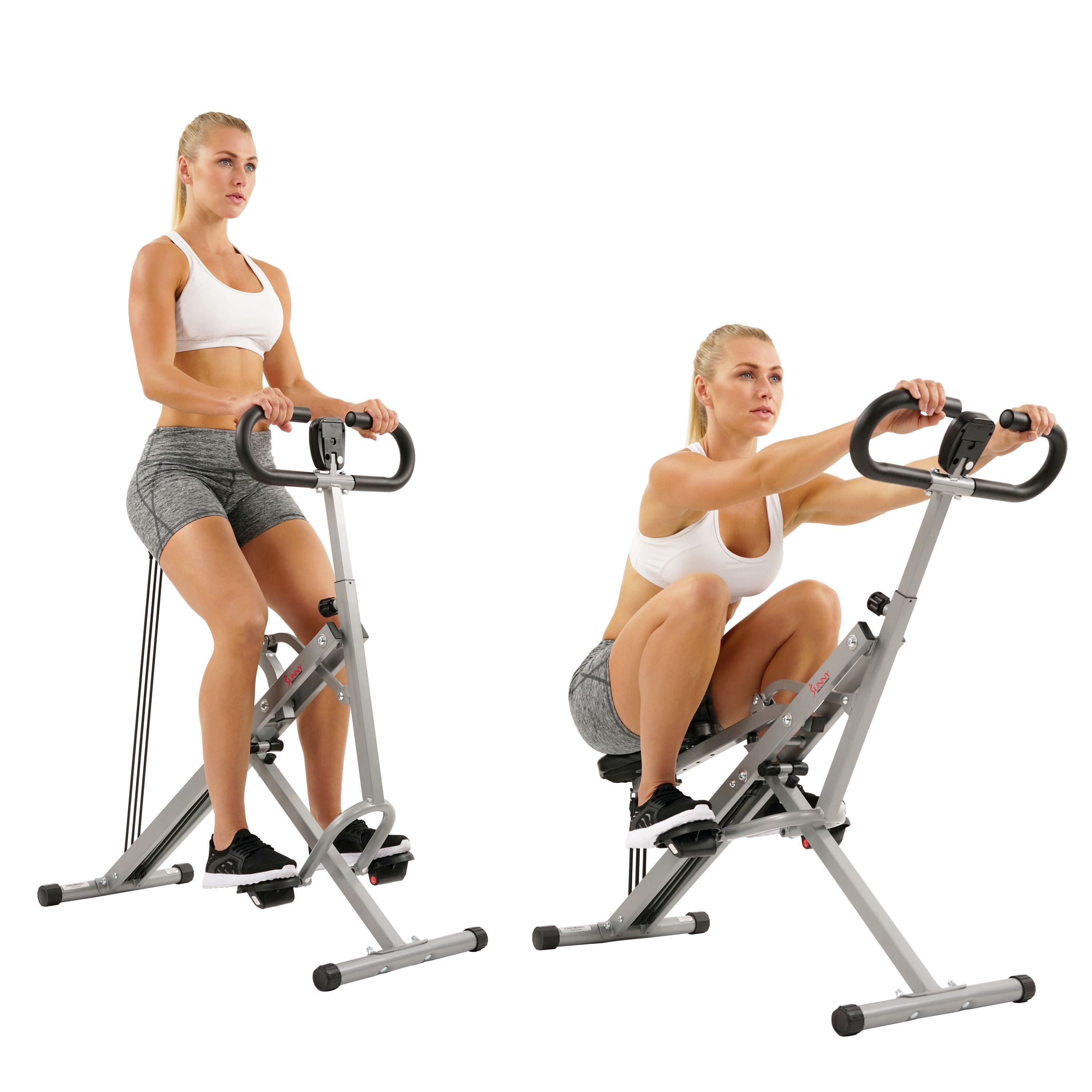 sunny-health-fitness-rowers-upright-row-n-ride-rowing-machine-NO.077-squat