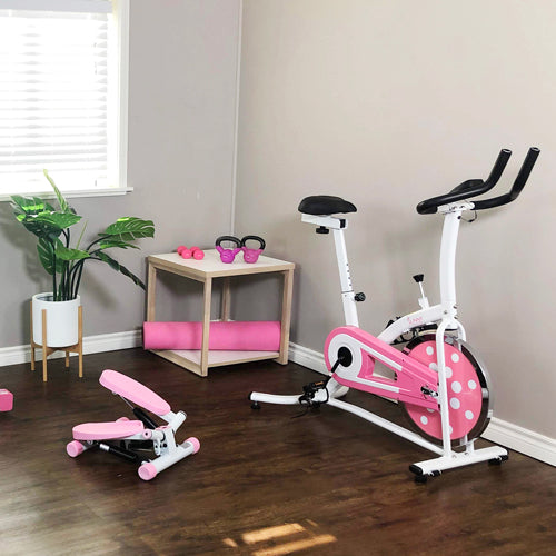 home gym with Sunny pink series