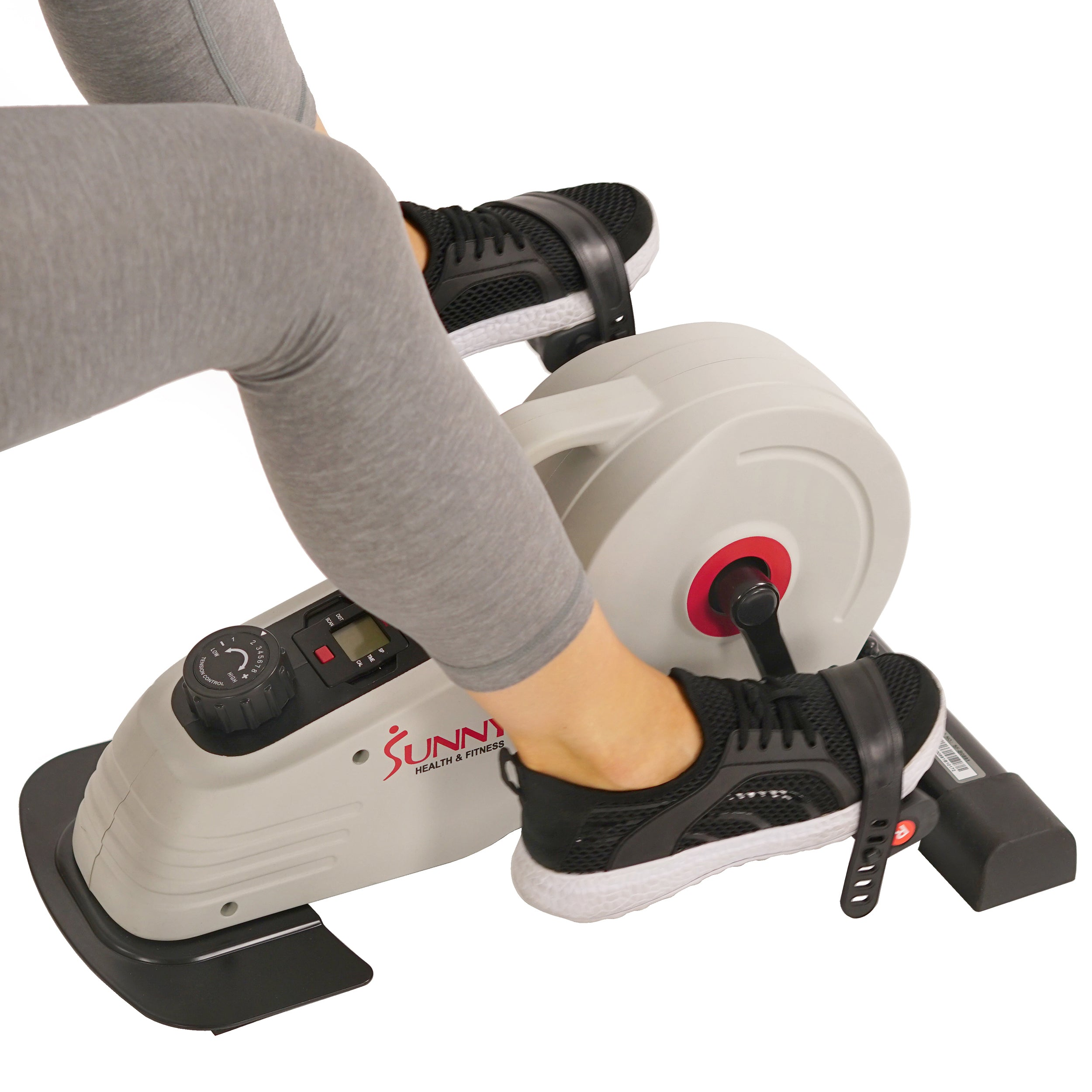 sunny-health-fitness-bikes-under-desk-magnetic-cycle-bike-SF-B0891-adjustable-foot-straps