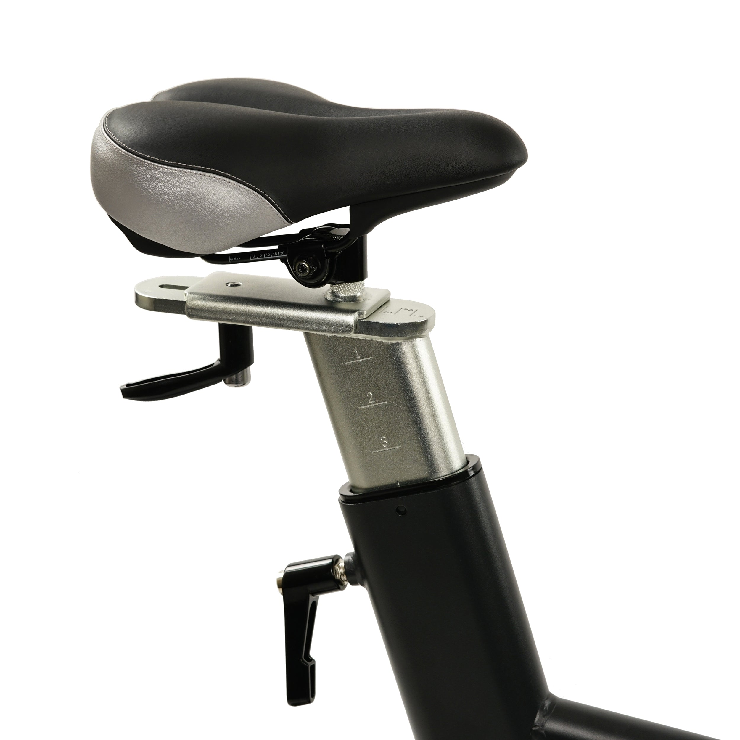 sunny-health-fitness-bikes-evolution-pro-magnetic-belt-drive-indoor-cycling-bike-high-weight-capacity-heavy-duty-flywheel-SF-B1714-seat