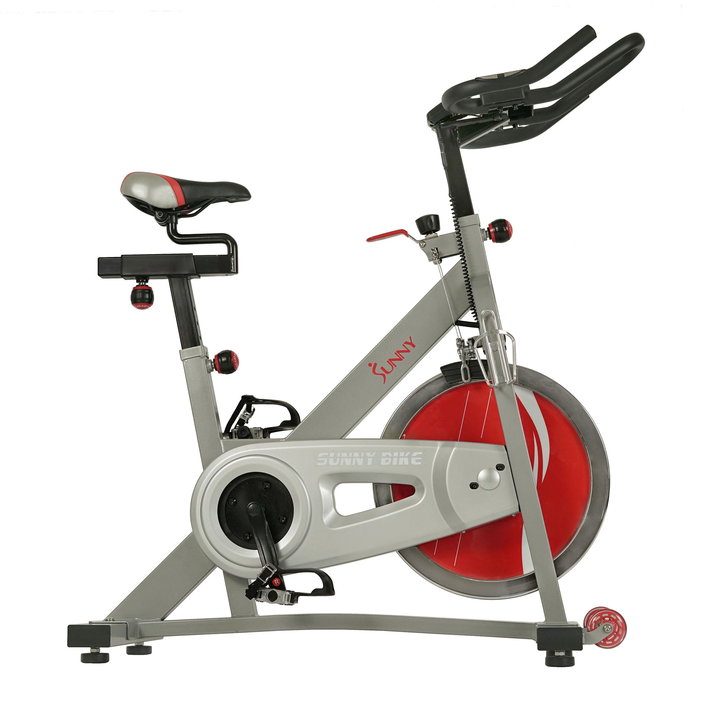 sunny-health-fitness-bikes-fitness-pro-II-indoor-cycling-bike-device-mount-advance-display-SF-B1995-belt-drive