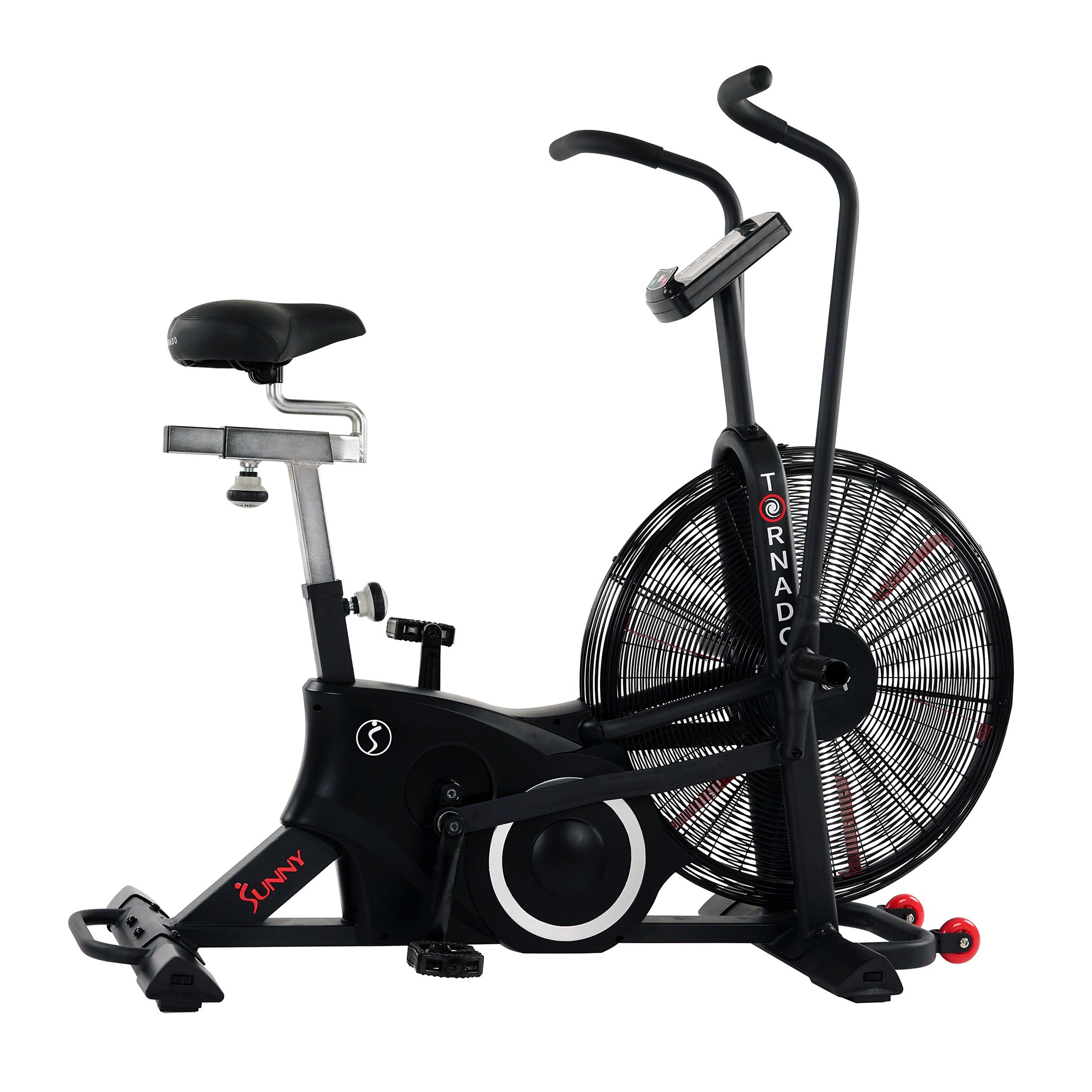 sunny-health-fitness-bikes-exercise-fan-bike-bluetooth-heart-rate-compatibility-tornado-LX-SF-B2729-01