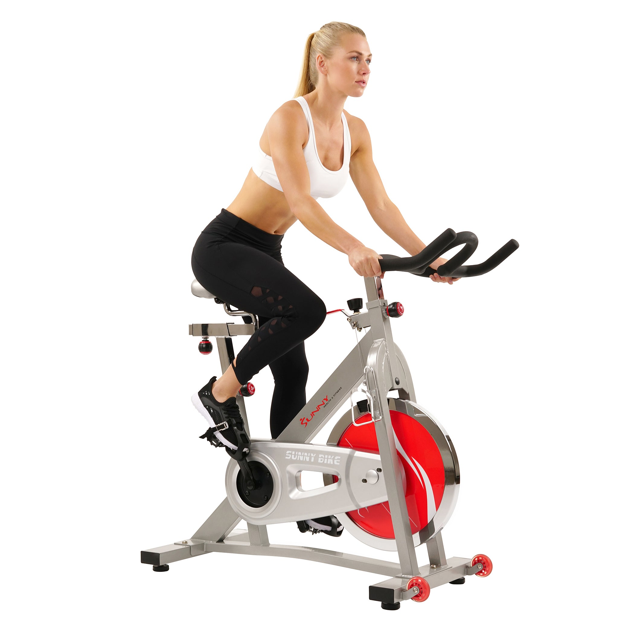 sunny-health-fitness-bikes-40lb-flywheel-belt-drive-pro-indoor-cycling-exercise-bike-SF-B901B-belt-drive