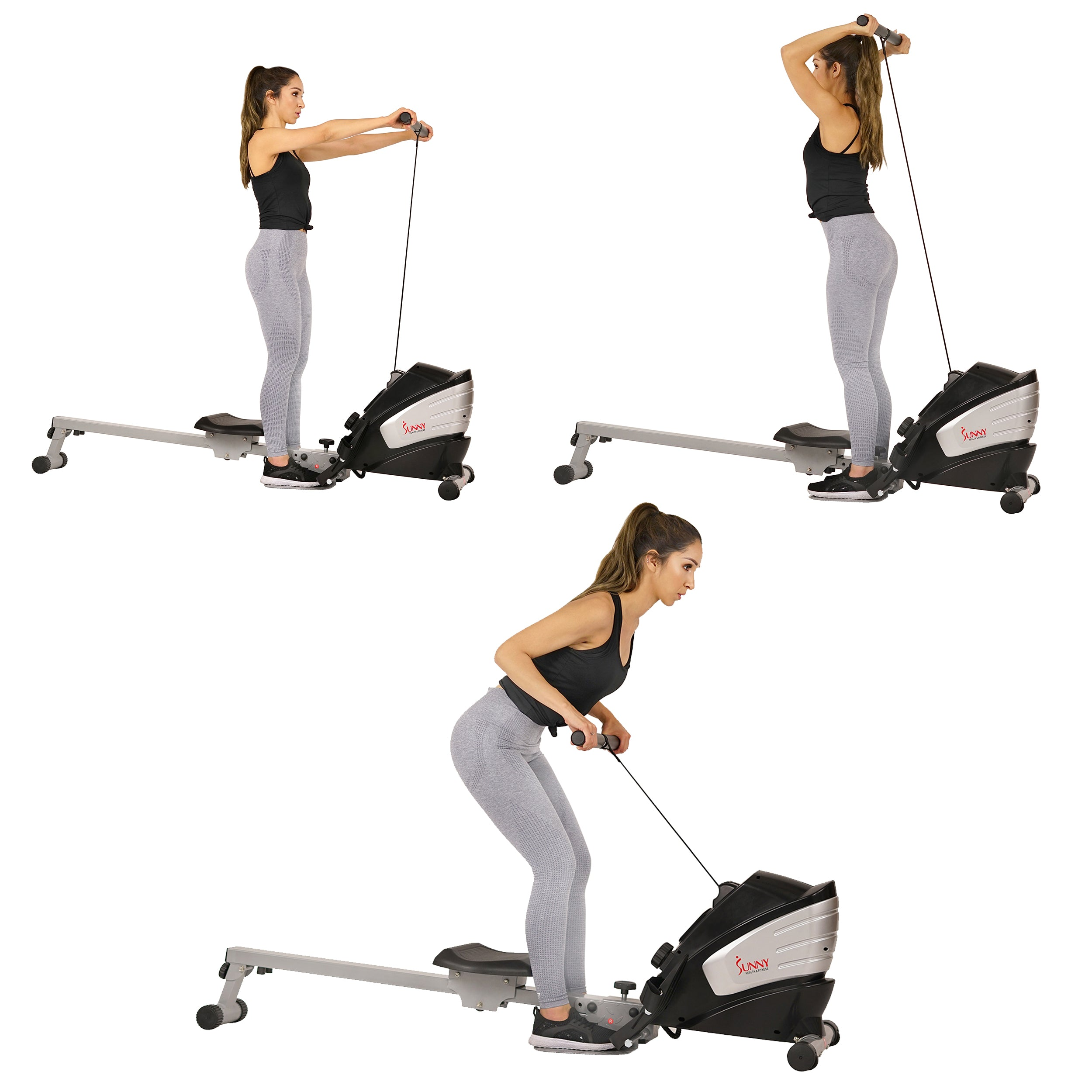 sunny-health-fitness-rowers-dual-function-magnetic-rowing-machine-rower-LCD-monitor-SF-RW5622-dual-function