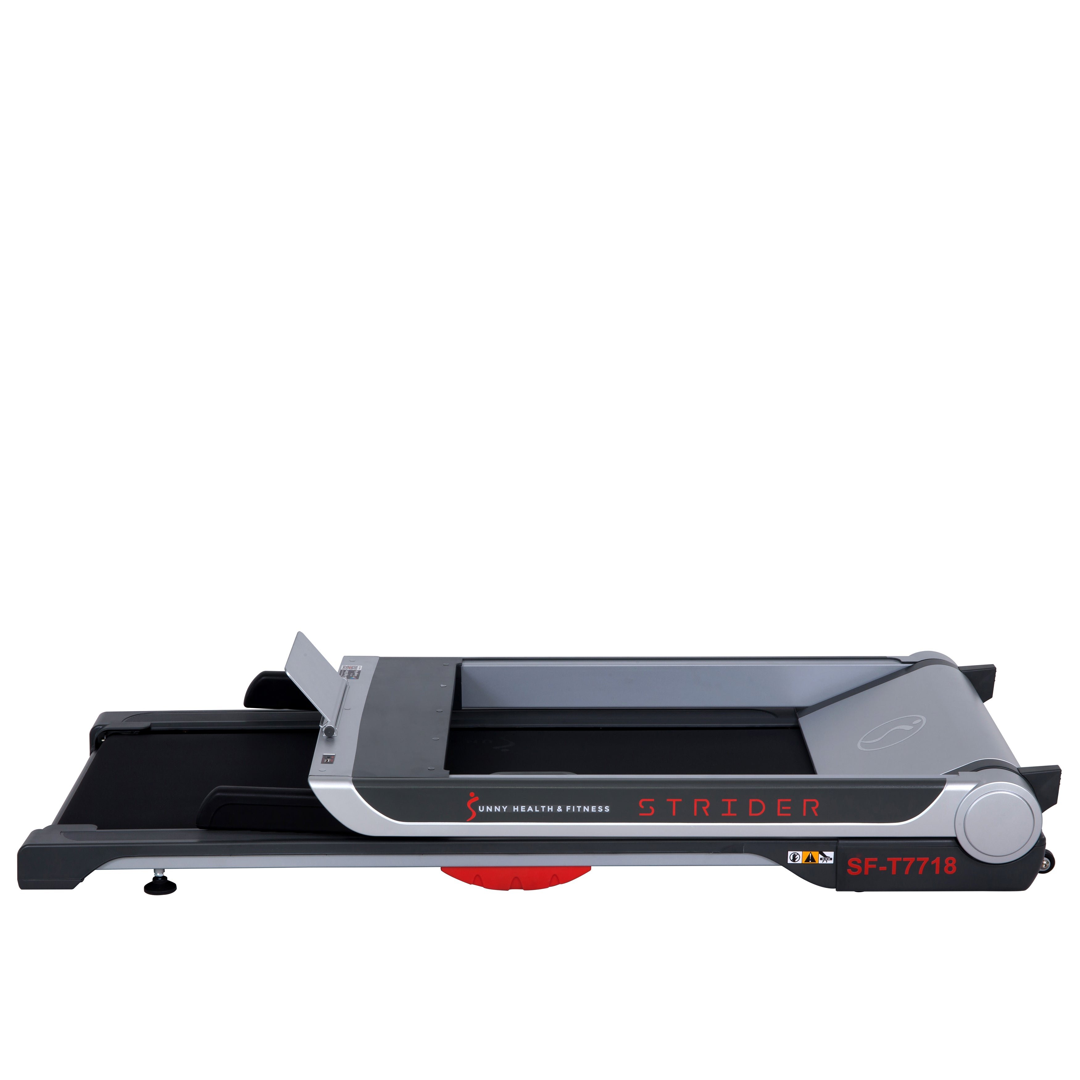 sunny-health-fitness-treadmills-running-treadmill-20-wide-belt-flat-folding-low-pro-portability-speakers-USB-SF-T7718-low-profile