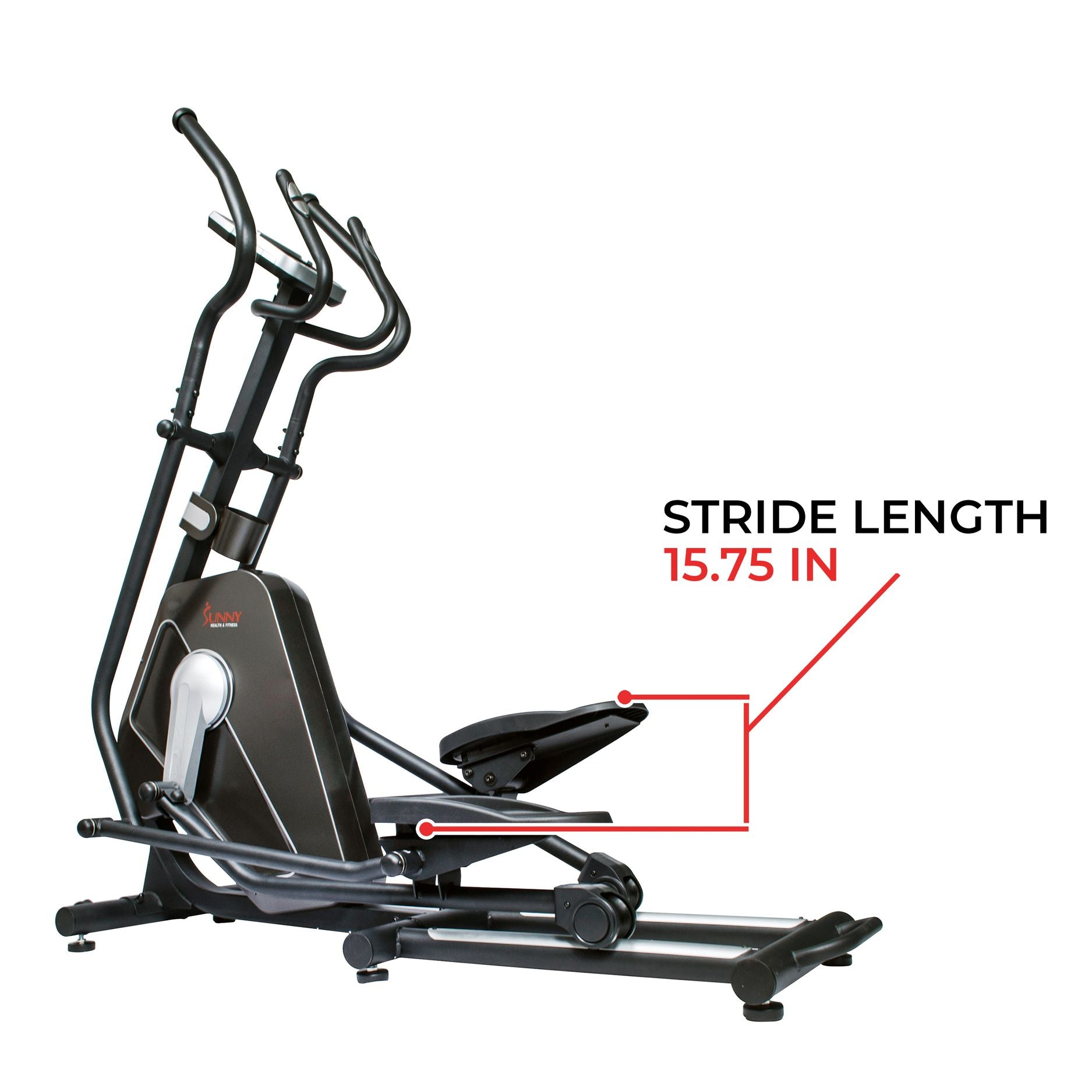 sunny-health-fitness-ellipticals-magnetic-elliptical-machine-tablet-holder-LCD-monitor-heart-rate-monitoring-circuit-zonw-SF-E3862-stride