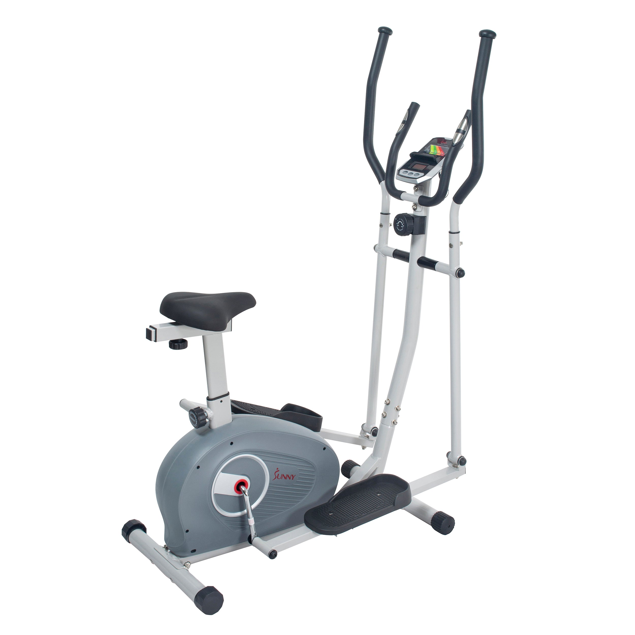 sunny-health-fitness-bikes-2-in-1-magnetic-elliptical-upright-bike-SF-E3903-resistance