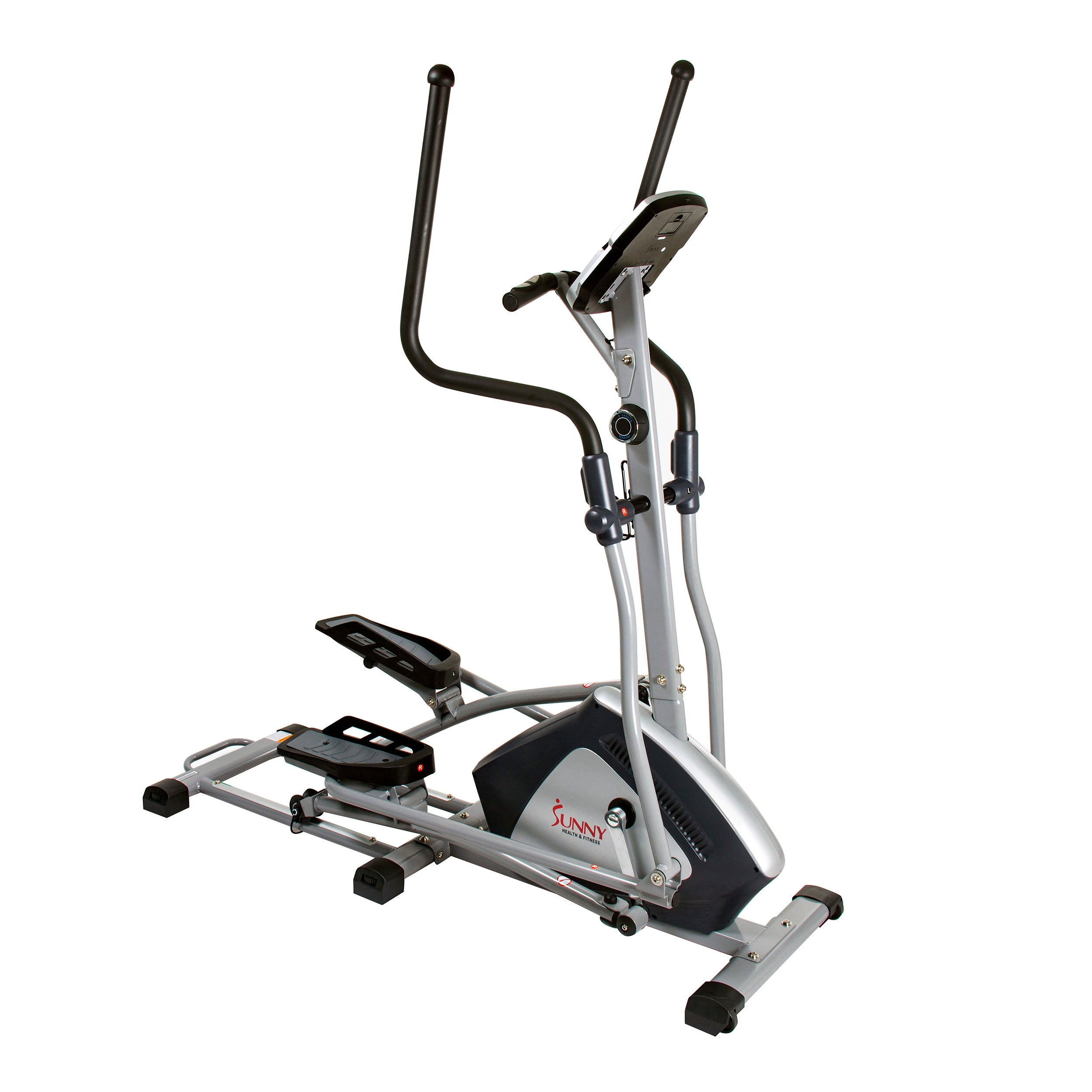 sunny-health-fitness-ellipticals-endurance-zone-cross-trainer-elliptical-SF-E3957-front-drive
