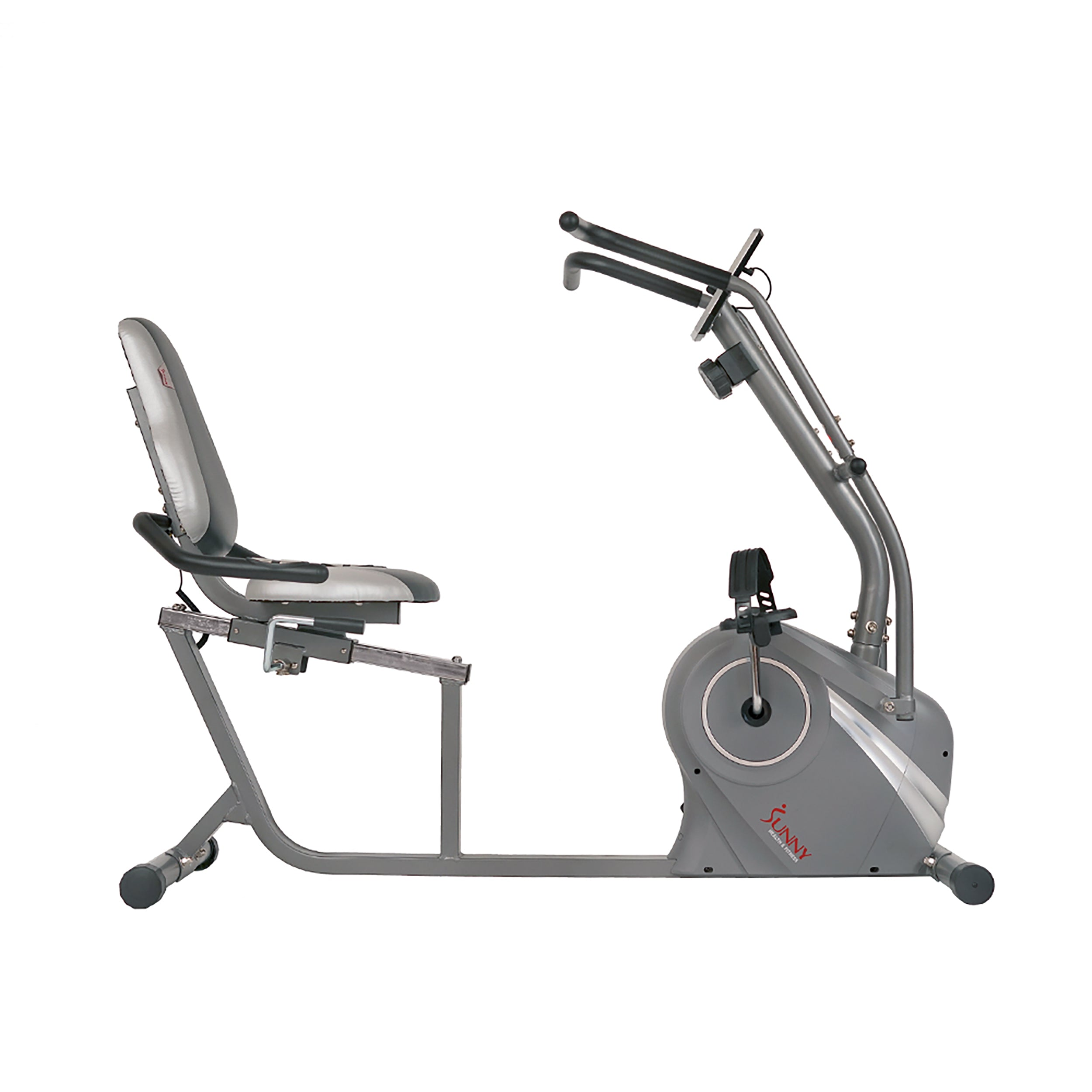 sunny-health-fitness-bikes-cross-trainer-magnetic-recumbent-bike-arm-exercisers-SF-RB4936-frame