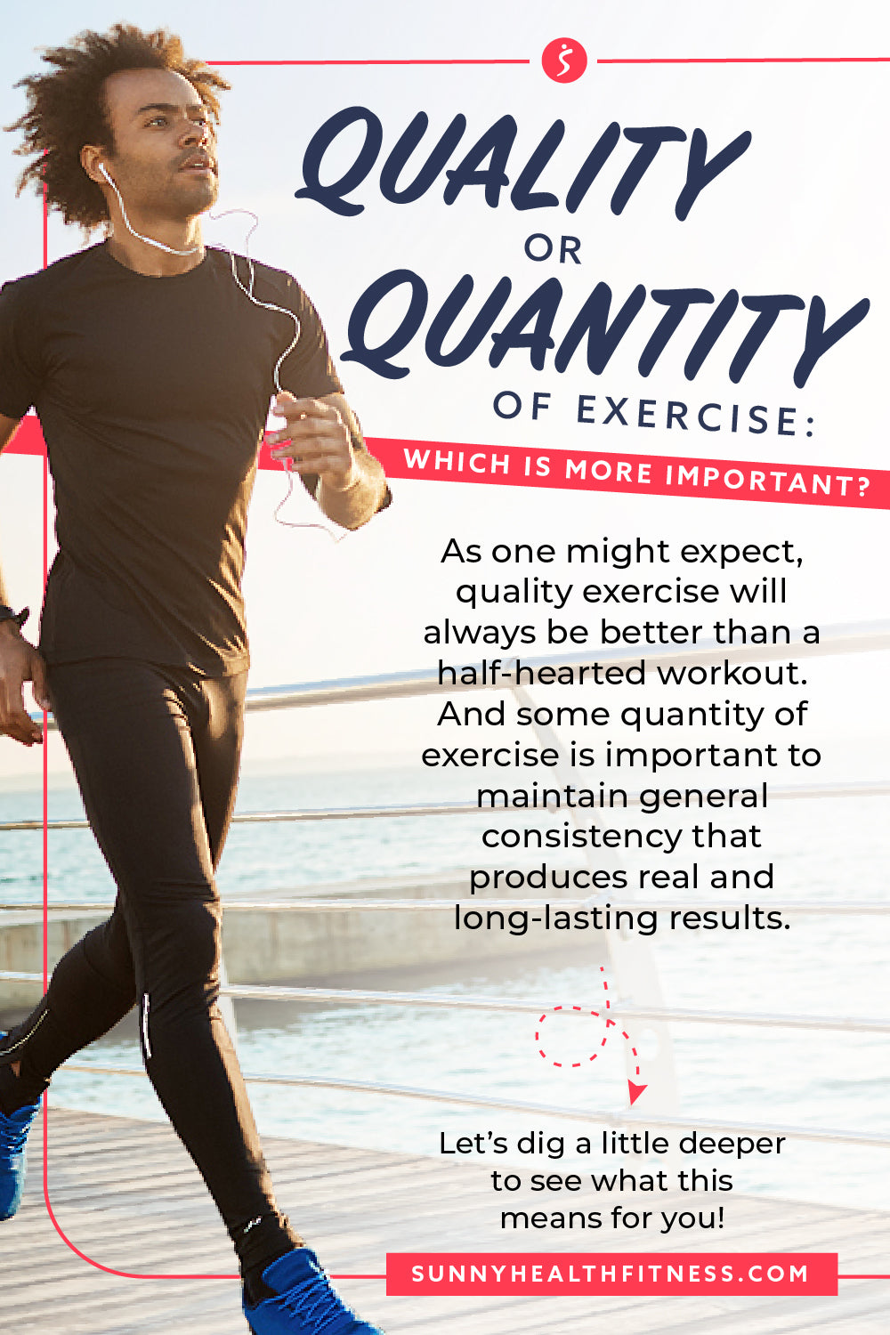 Quality or Quantity of Exercise Infographic