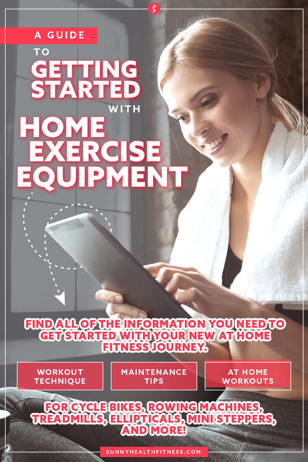 A Guide to Getting Started with Home Exercise Equipment Infographic