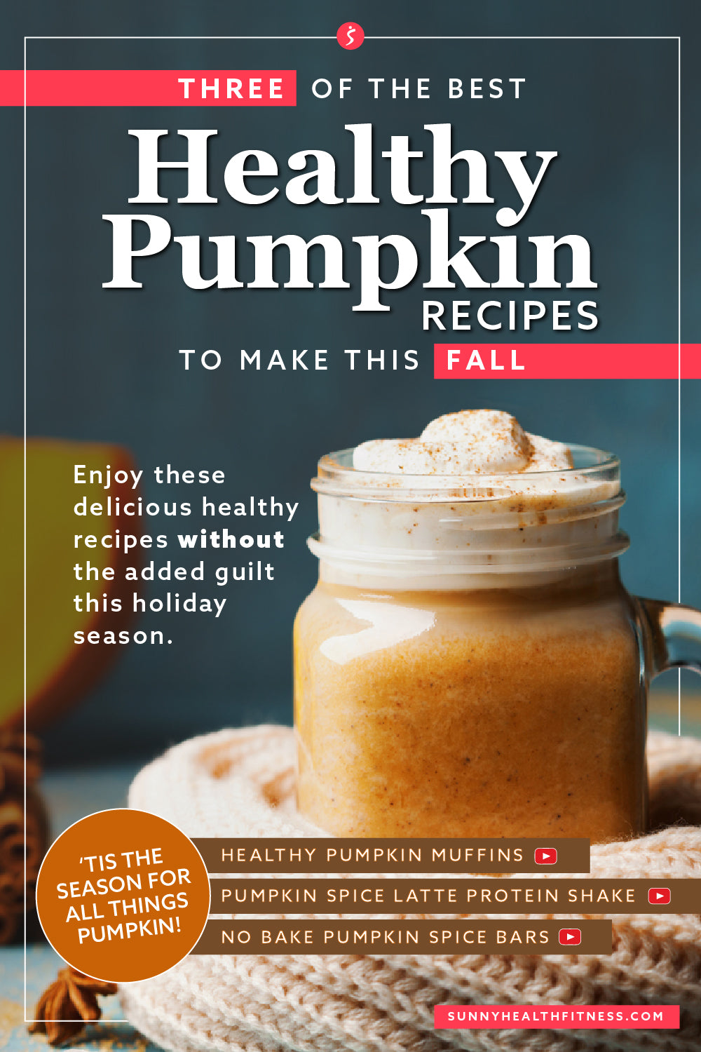 3 Fall Recipes Infographic
