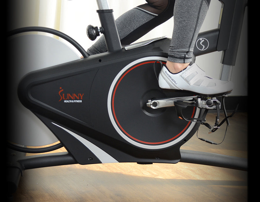 Magnetic cycle bike fitness workouts
