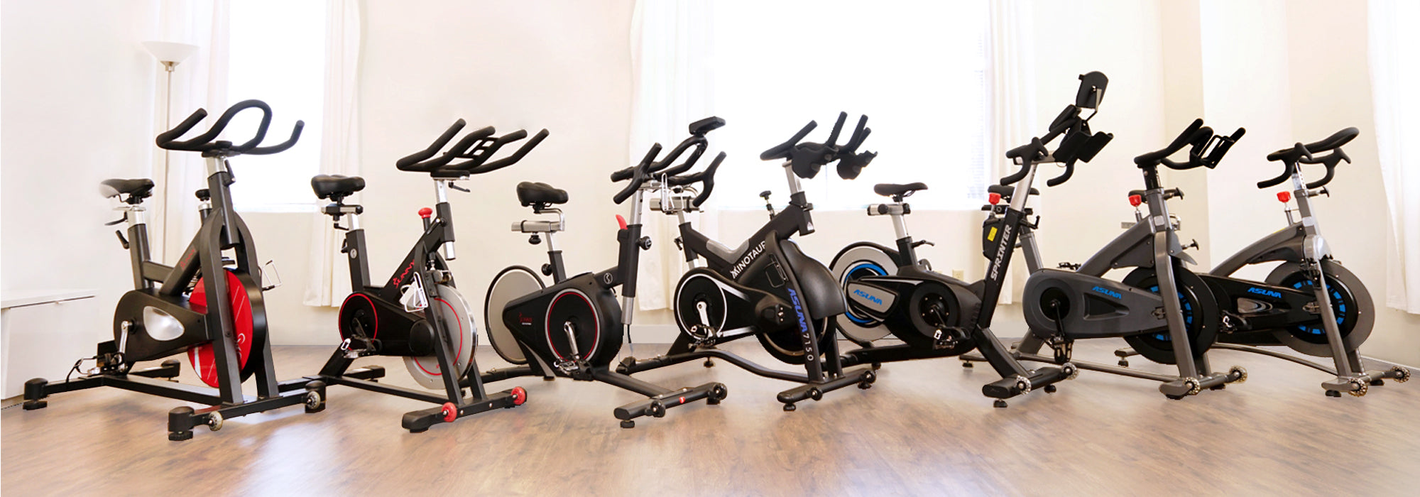 Magnetic exercise bike line by Sunny Health and Fitness