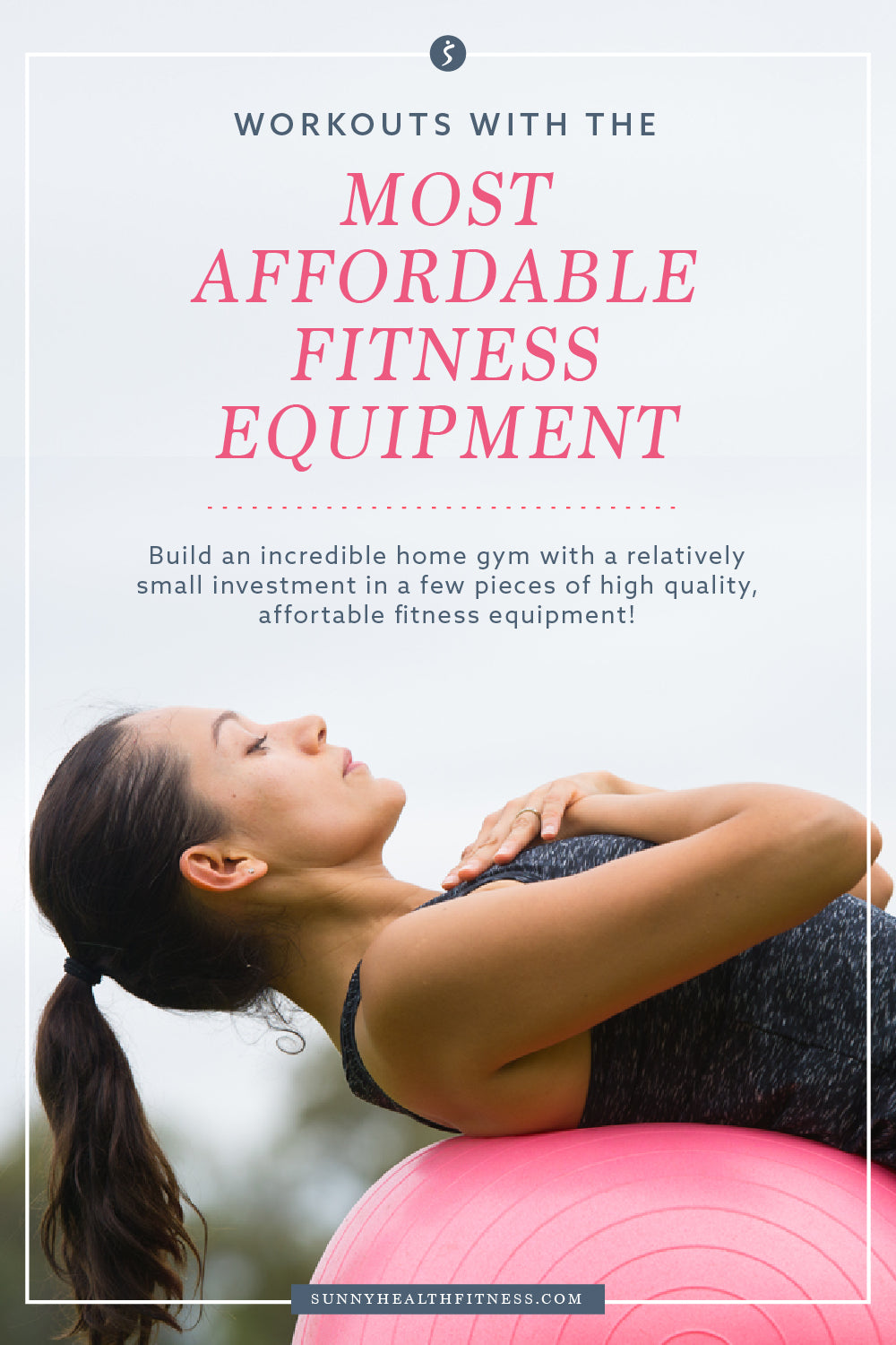 Workouts with the Most Affordable Fitness Equipment Infographic