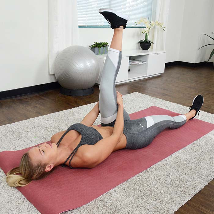 sunny-health-fitness-accessories-yoga-mat-extra-wide-and-length-dual-color-NO.071-hamstring-stretch