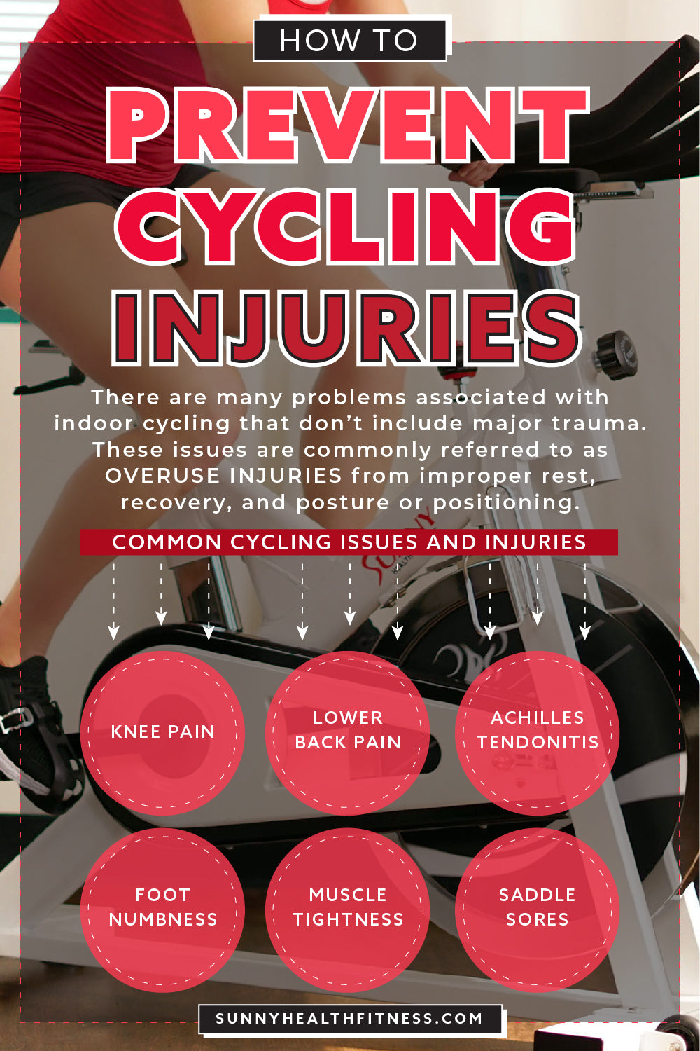 Prevent Cycling Injuries Infographic