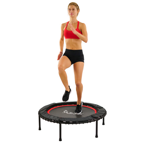sunny-health-fitness-accessories-exercise-trampoline-rebounder-No.078-Polypropylene-Surface-with-Steel-Frame