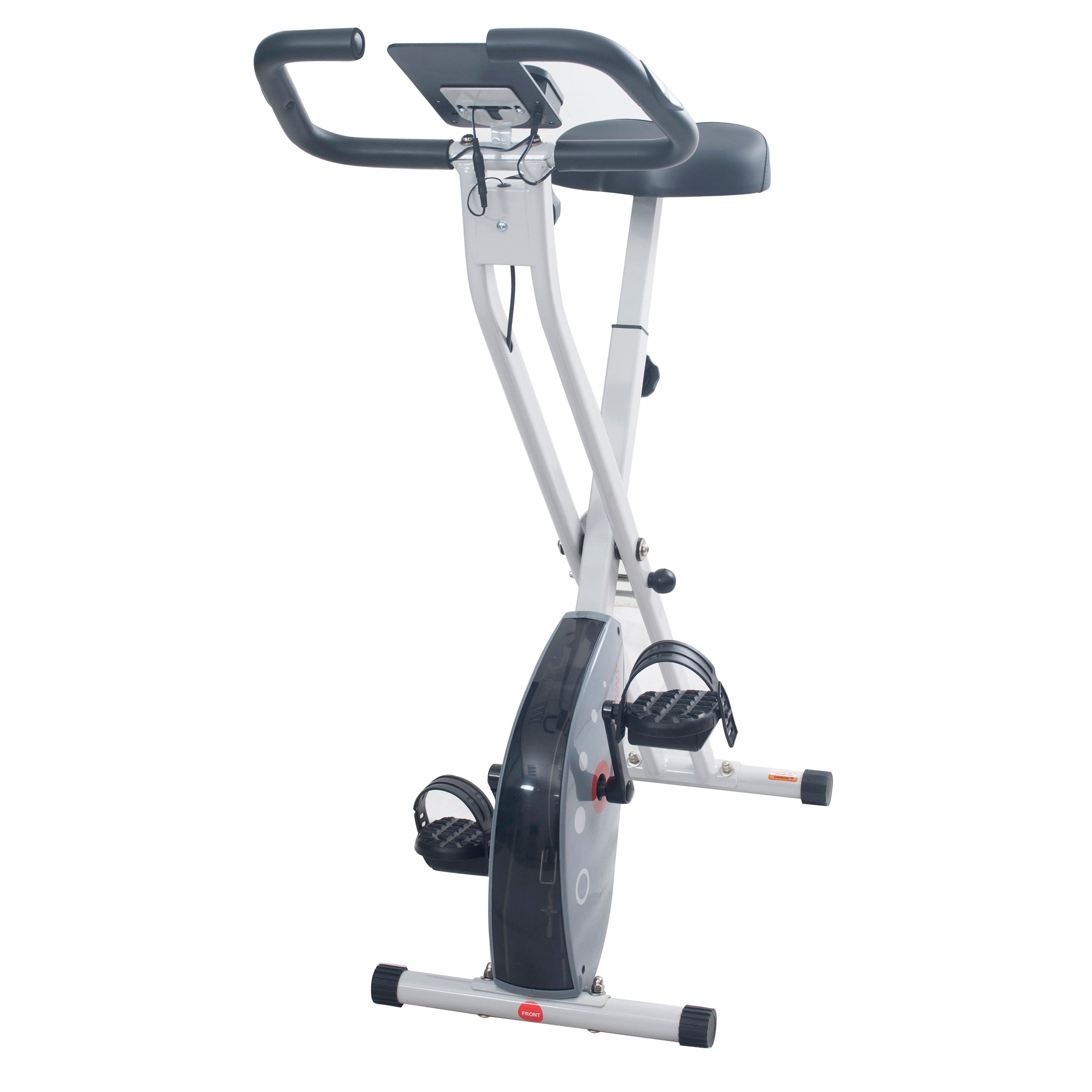 sunny-health-fitness-bike-magnetic-foldable-exercise-bike-sf-b2989-non-slip-handles