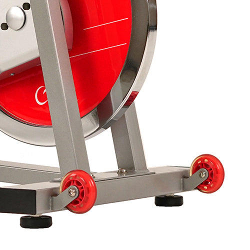 sunny-health-fitness-bikes-40lb-flywheel-belt-drive-pro-indoor-cycling-ejercicio-bike-SF-B901B-transportwheels