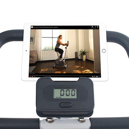 sunny-health-fitness-bike-magnetic-foldable-exercise-bike-sf-b2989-device-holder